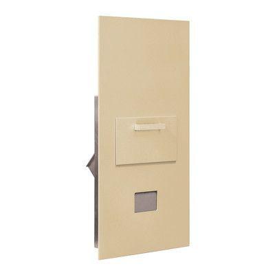 Salsbury Industries 1 Unit High 4B Horizontal Mailbox Parcel Locker Finish: Sandstone