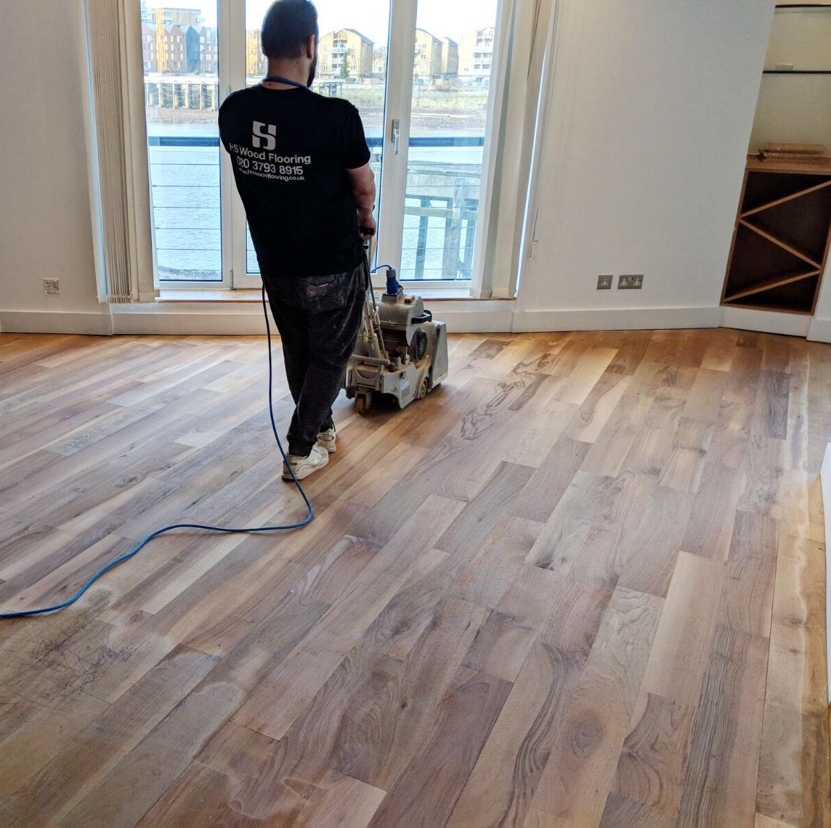 Wooden Floor Revamp Step 2 Floor Stripping Flooring Flooring Companies Floor Installation
