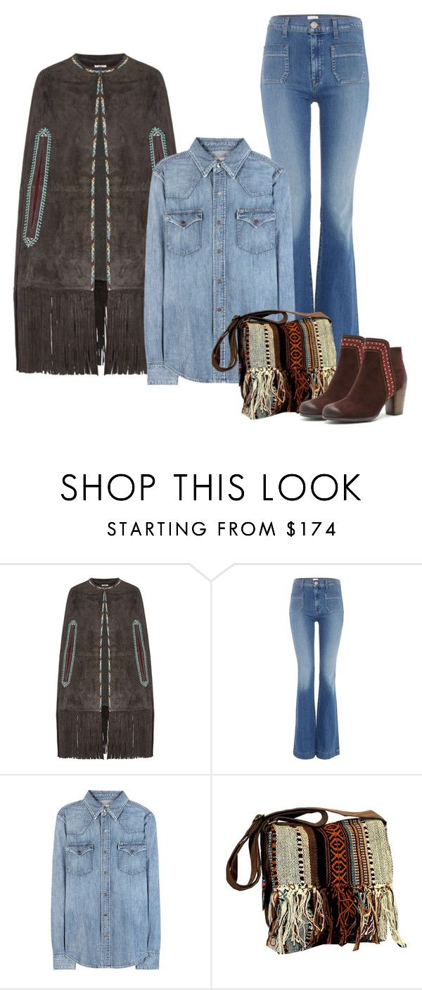 """""""Denim boho look"""" by perfectforyou ❤ liked on Polyvore featuring Talitha, Hudson Jeans, Polo Ralph Lauren and ShoeMaiden"""