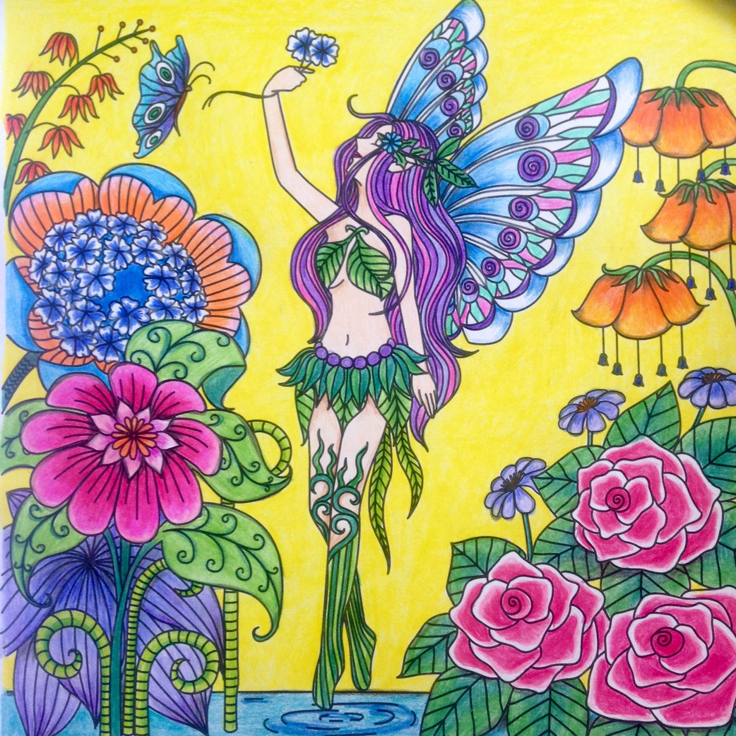 Coloring. | Fairy art, Unicorns and mermaids, Fairy angel