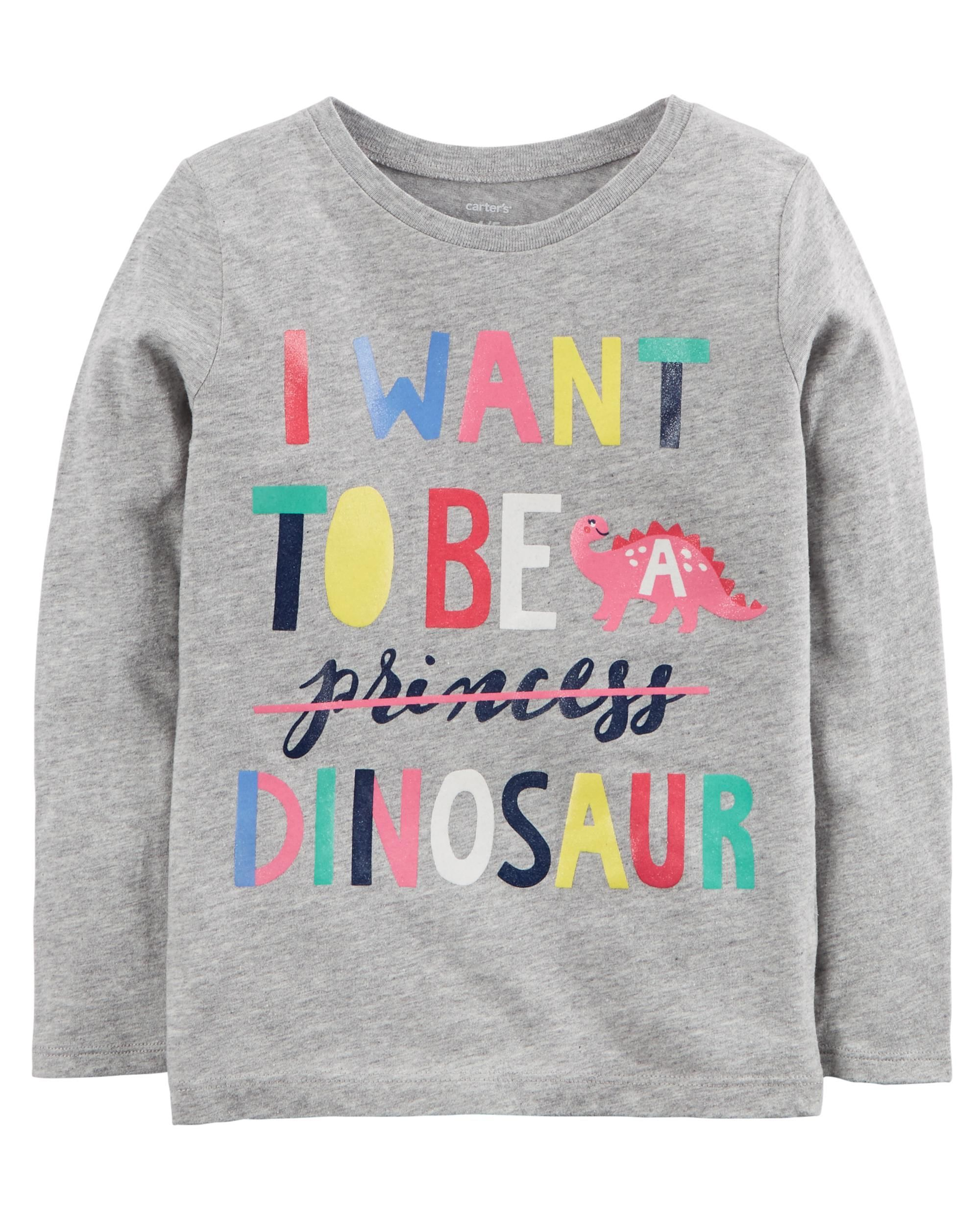 Dinosaur Jersey Tee Carters Baby Clothes Carters Baby