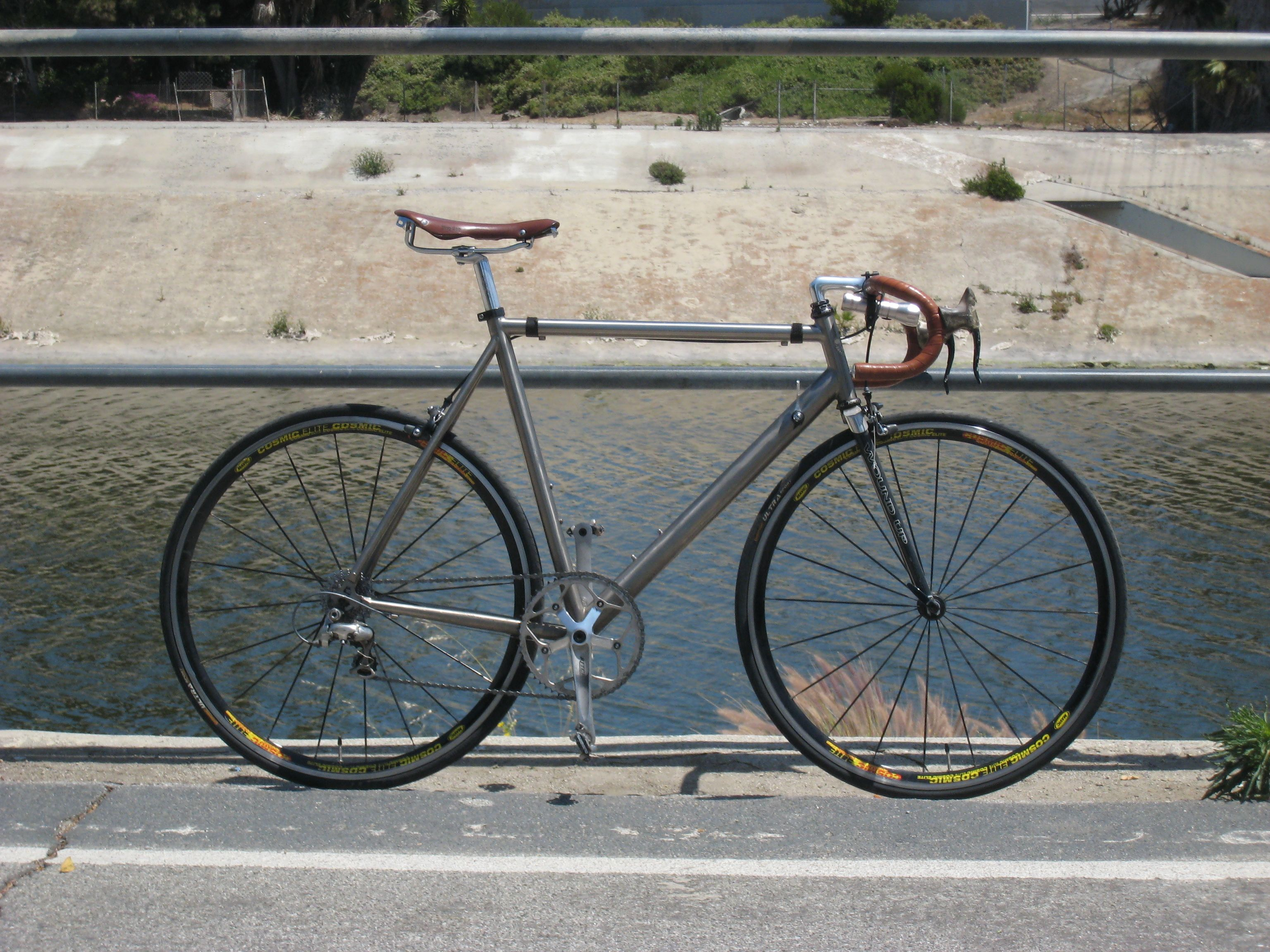 This Bike Is Built With Used Parts From Ebay And Craigslist Cool Bikes Road Bikes Bike