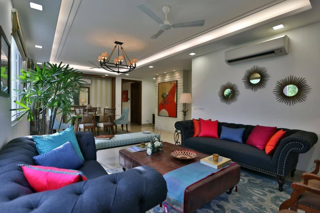 Living Room Designs Indian Style (With images) | Indian ...