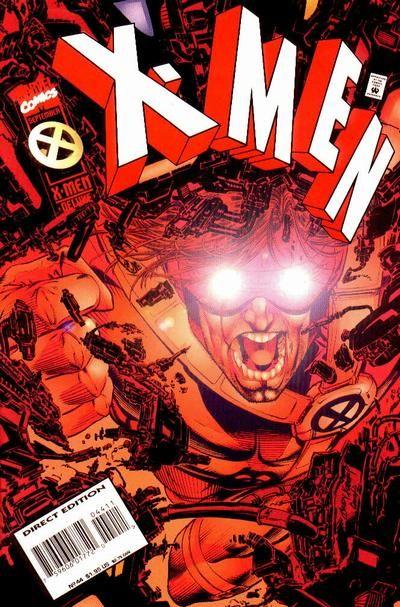 X Men Vol 2 44 Comic Book Superheroes Comic Book Covers Marvel Comics Covers