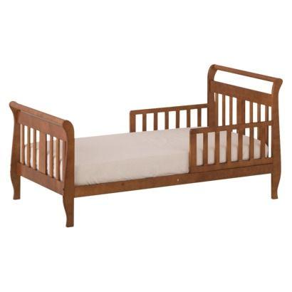 StorkCraft Soom Soom Toddler Bed - Cognac | Toddler bed ...