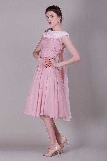 Robe soiree rose vintage