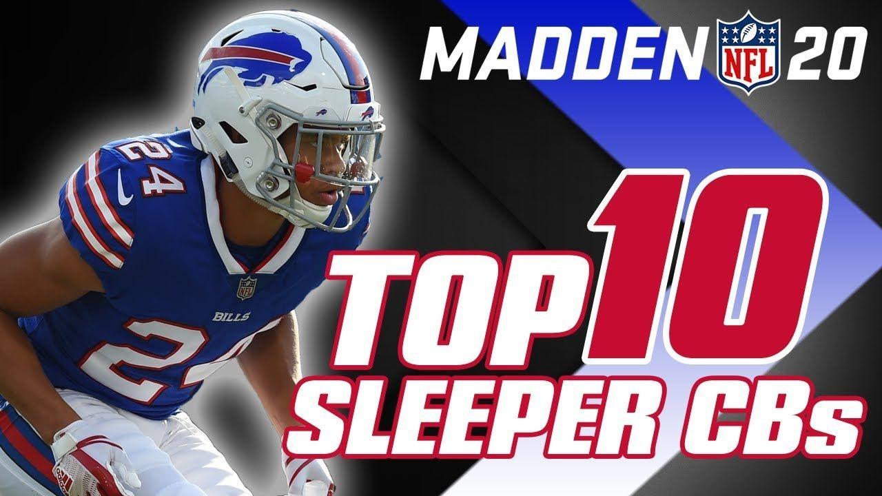 Madden 20 Top 10 Sleeper Cornerbacks Madden Madden Nfl Best Player