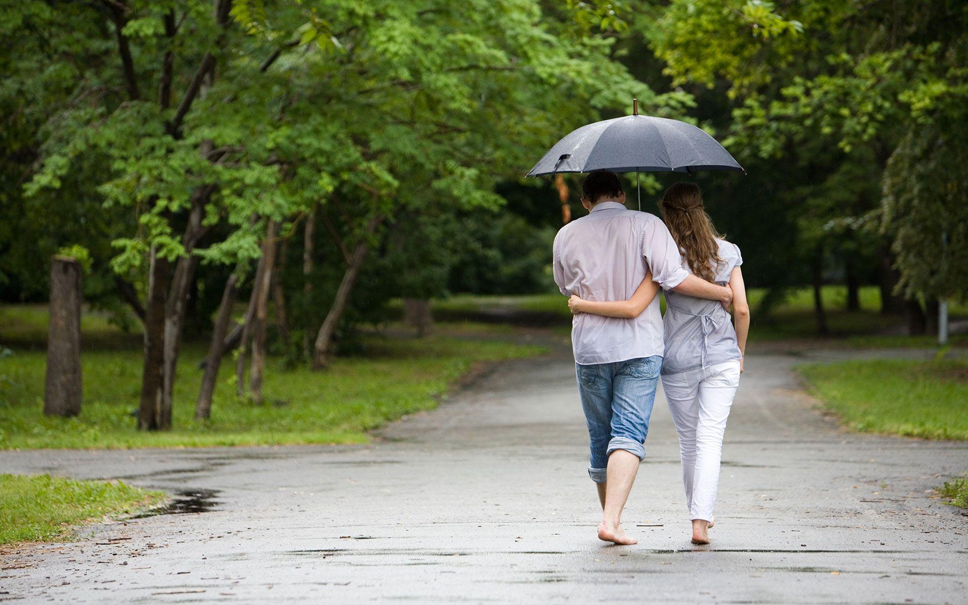 8k Rain Couple Wallpaper: Romantic Couple Rain Hd Wallpapers