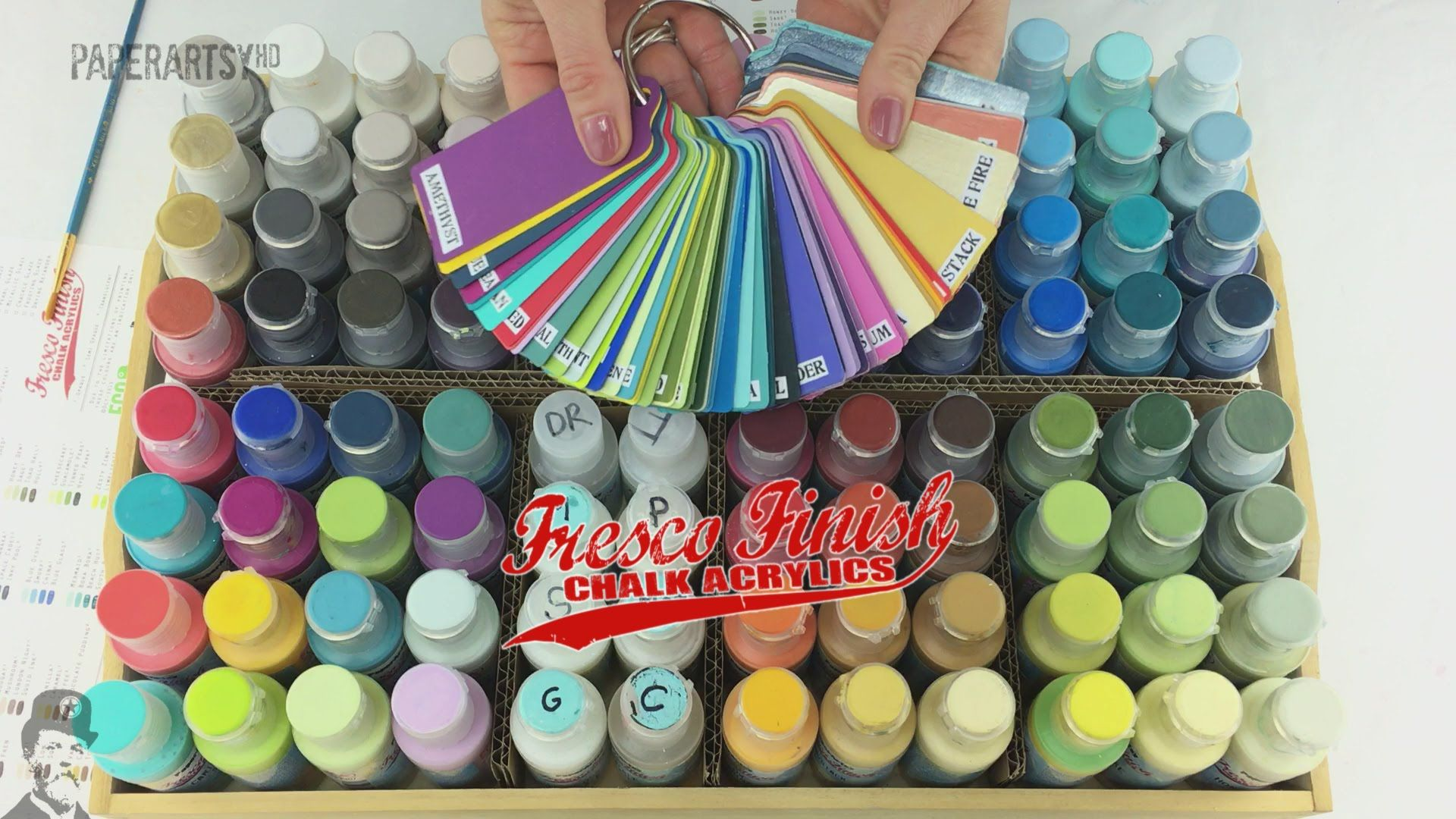 New Feb 2016 Fresco Chalk Paints By Paperartsy Paper Artsy Art Craft Paint Painting Crafts