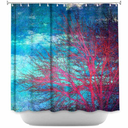 Shower Curtain Artistic Designer From DiaNoche Designs By Sylvia Cook Stylish Decorative Unique