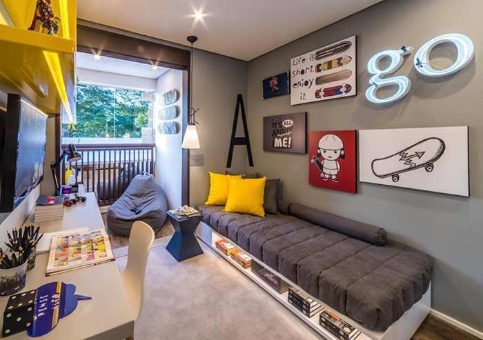 Photo of Dekorierte Räume: 60 Ideen von Umgebungen, um in der Dekoration richtig zu kommen – Neu dekoration stile