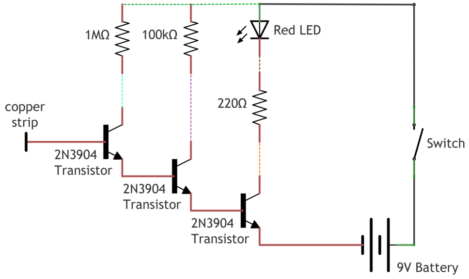 NonContact Voltage Detector Electronics projects, Tech