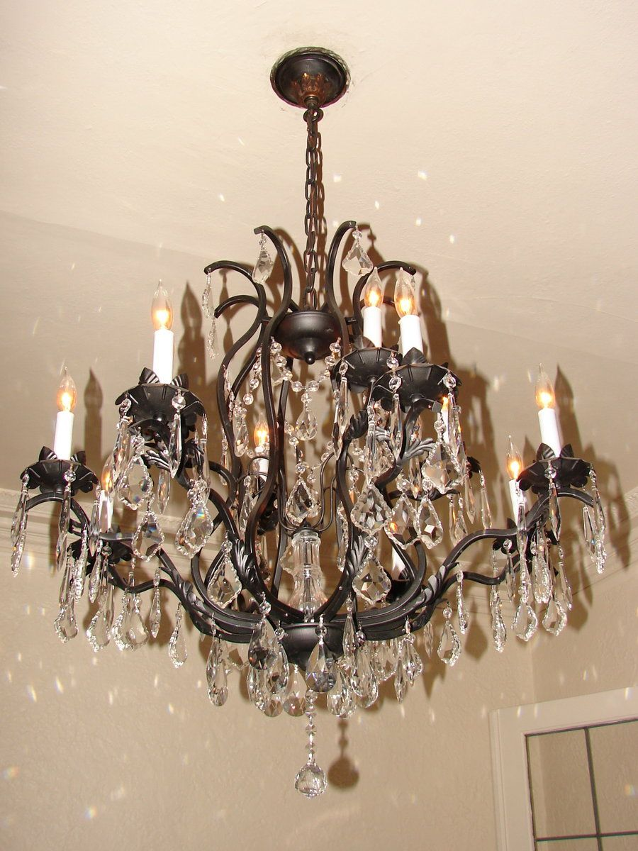 Bronze crystal chandelier by fantasystock on deviantart you light bronze crystal chandelier by fantasystock on deviantart mozeypictures Images