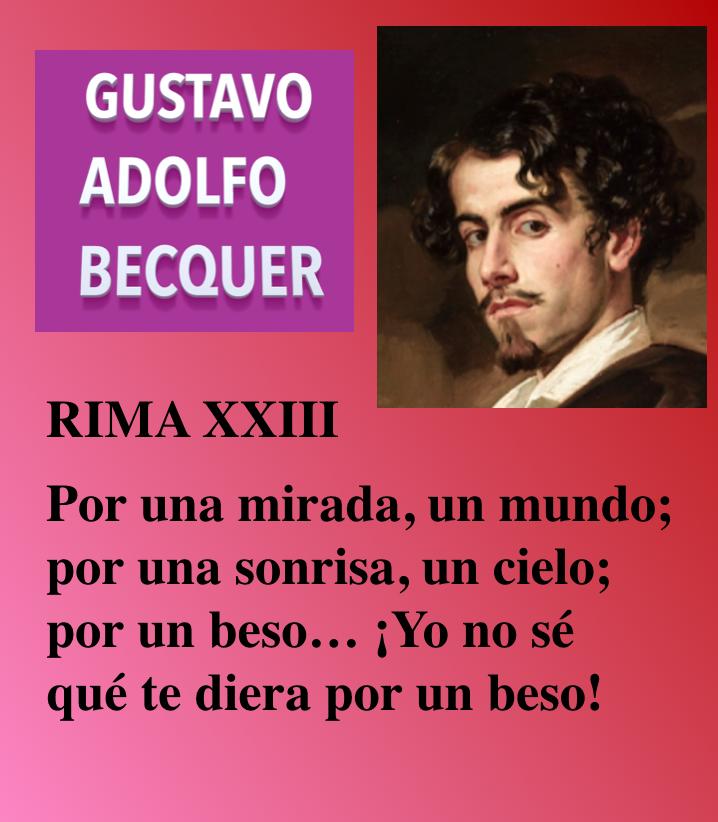 Gustabo Adolfo Becquer Poeta Romántico Poemas Famosos Poemas Románticos Poesias De La Vida