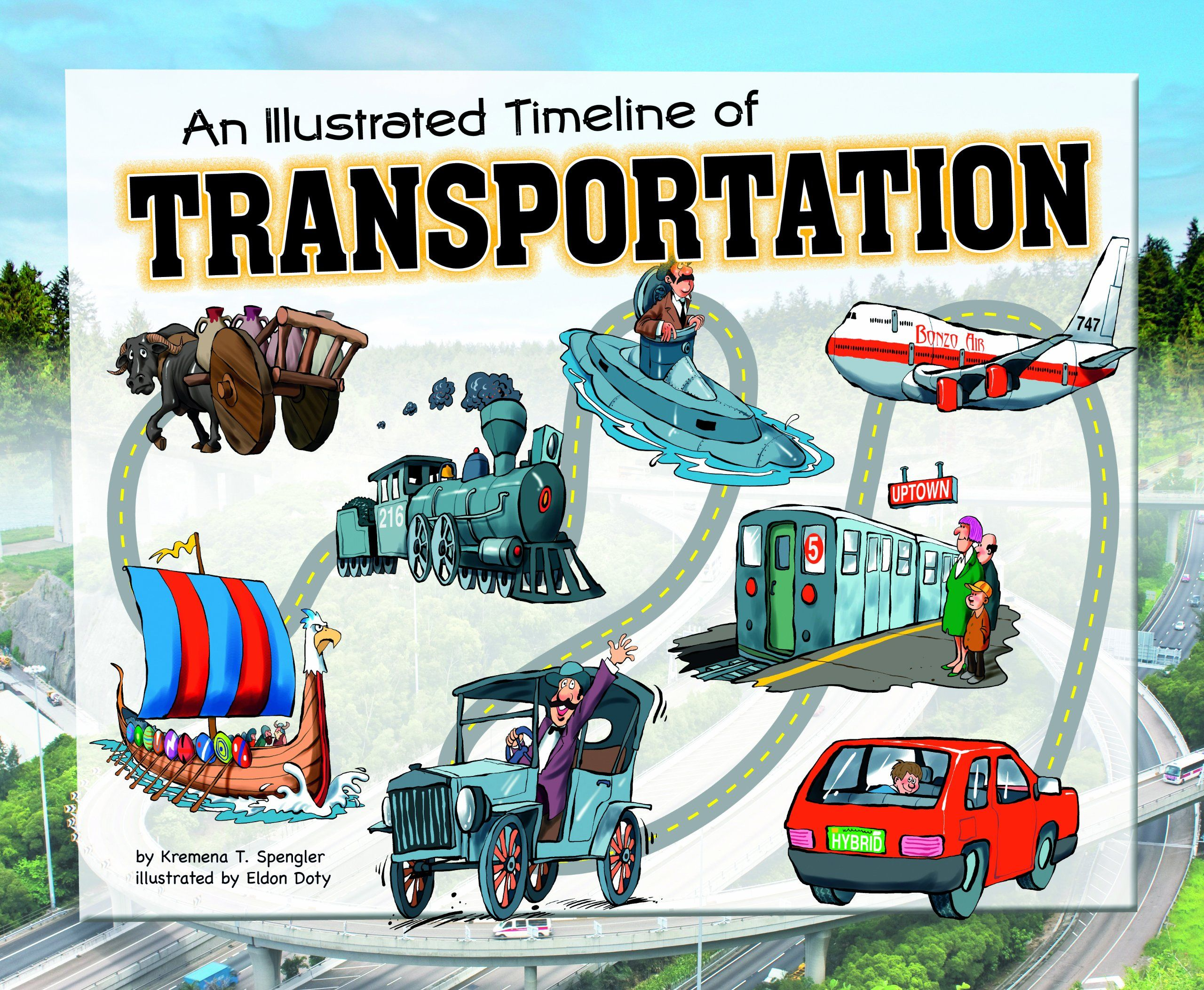 An Illustrated Timeline Of Transportation (Visual