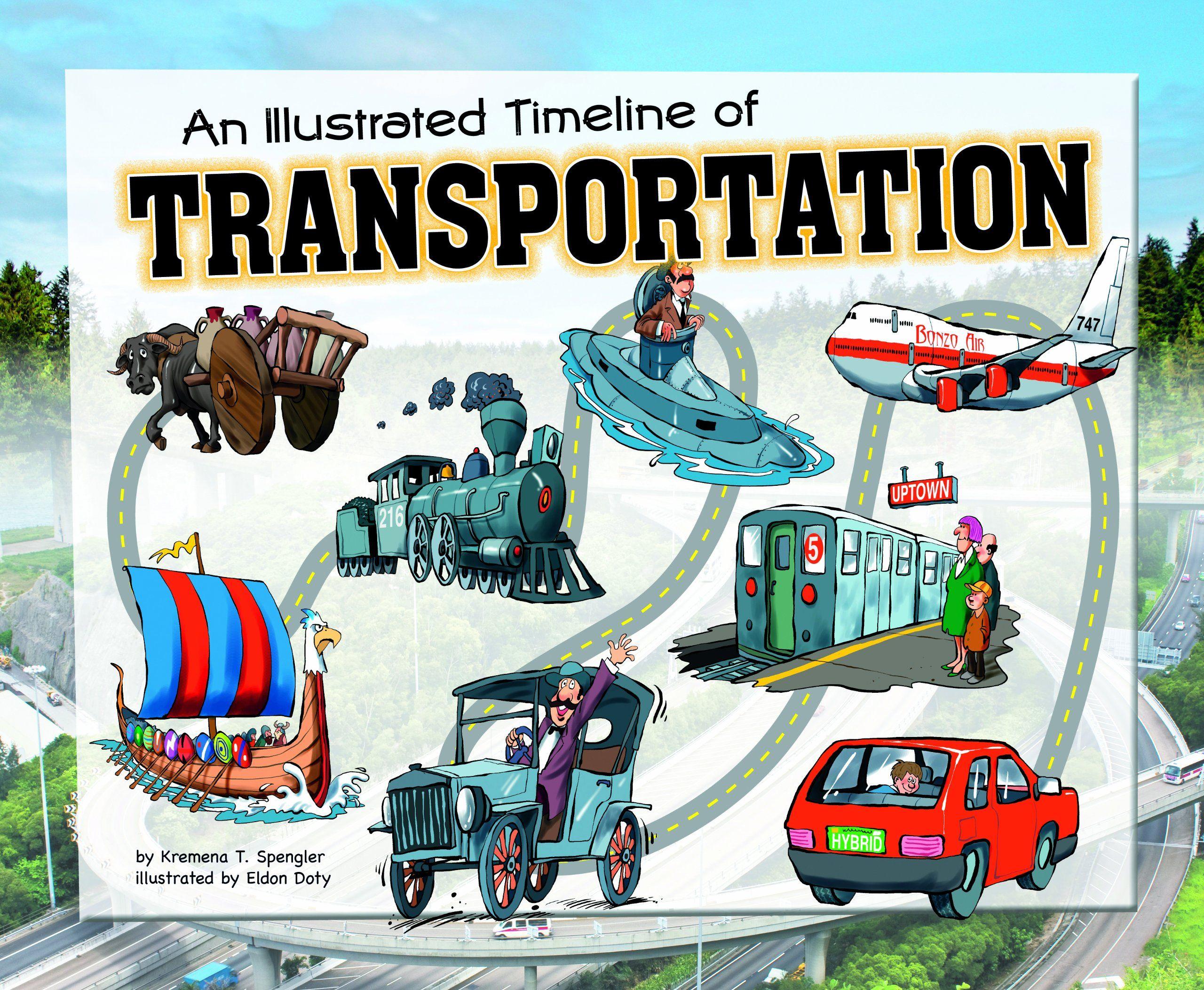 An Illustrated Timeline Of Transportation Visual