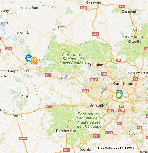 Map Of France Giverny.Giverny France Day Trip Guide Map How To Get There What To See