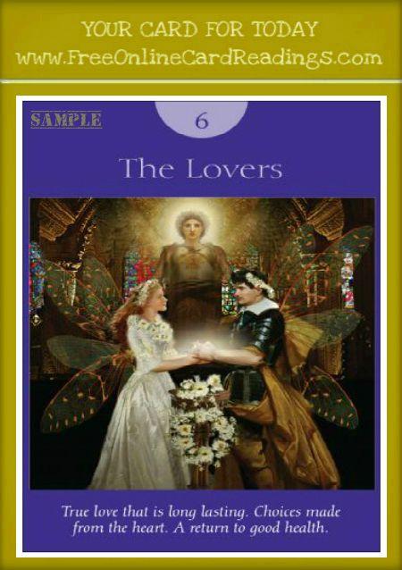 Free Online Tarot Card Readings-Fairy Tarot Cards By Doreen Virtue