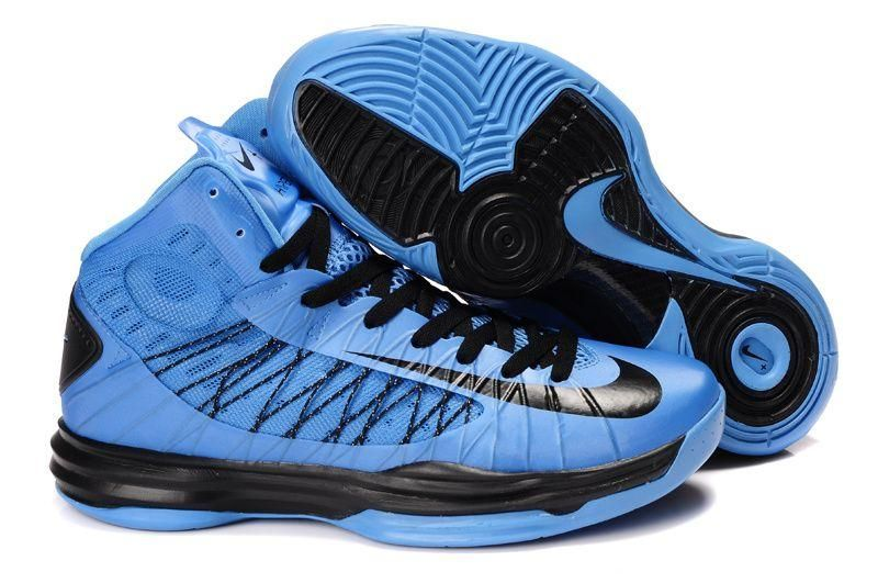Cheap Nike 2013 Womens Lunar Hyperdunk Blue Black Basketball Shoes For  Wholesale