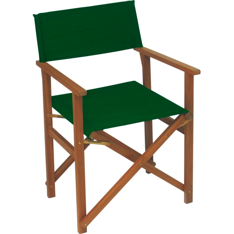 Mimosa Green Timber Directors Chair | Directors chair ...