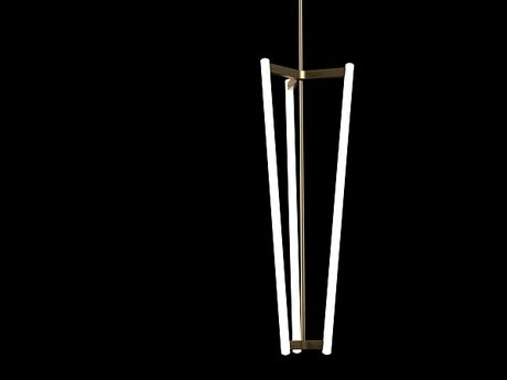 Tube Chandelier 3d model by Design Connected | Products