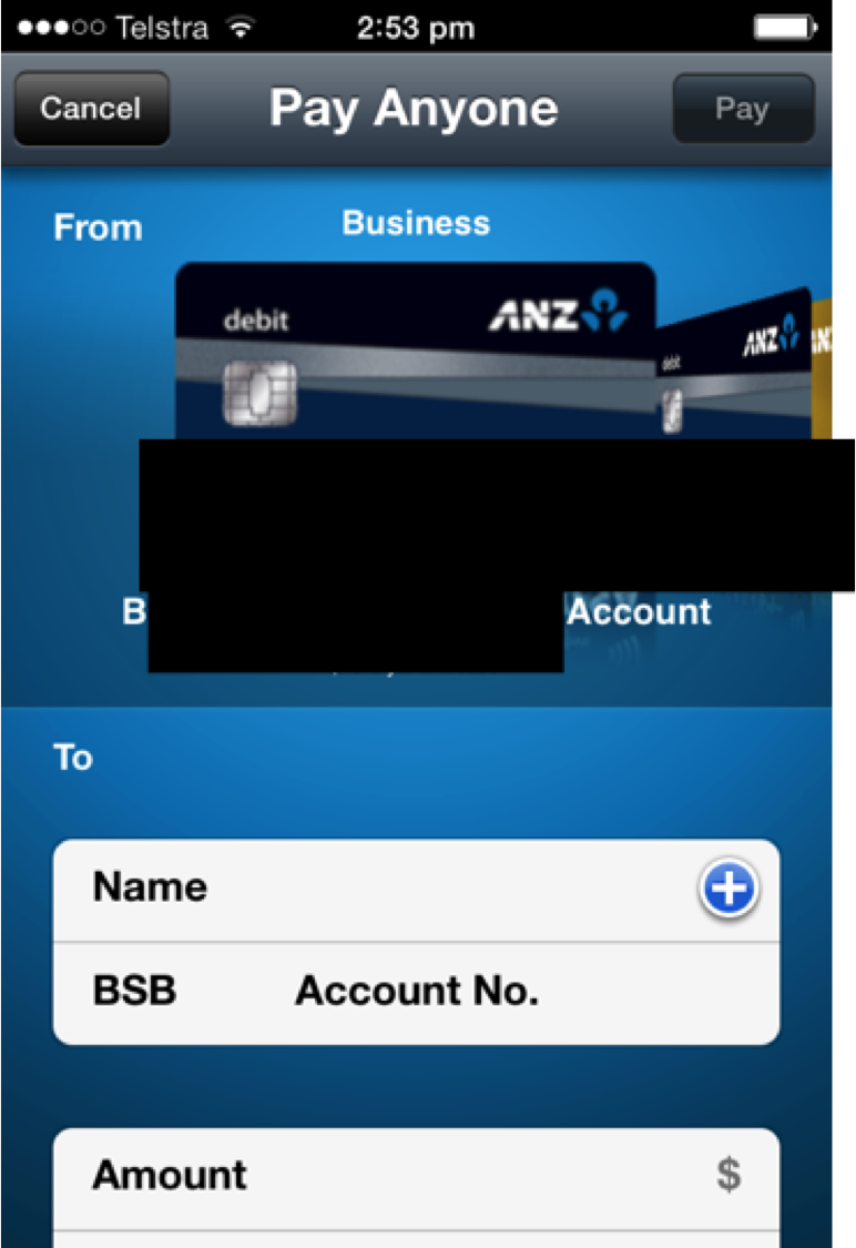 My bank's App makes it too easy to transfer money from the