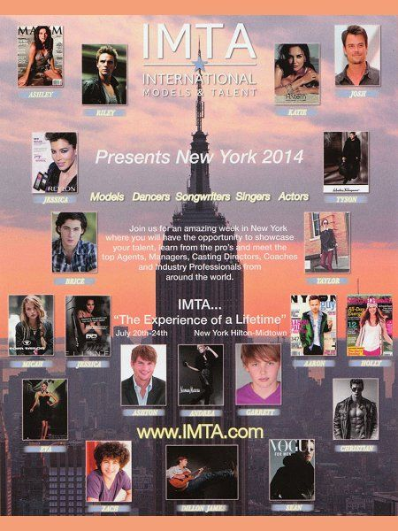 Trying to get Derek to his IMTA in NY in July this is information about it
