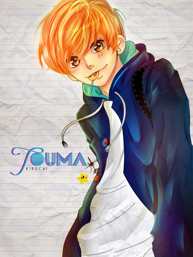 Touma Kikuchi by CreationAndrea on DeviantArt Ao haru