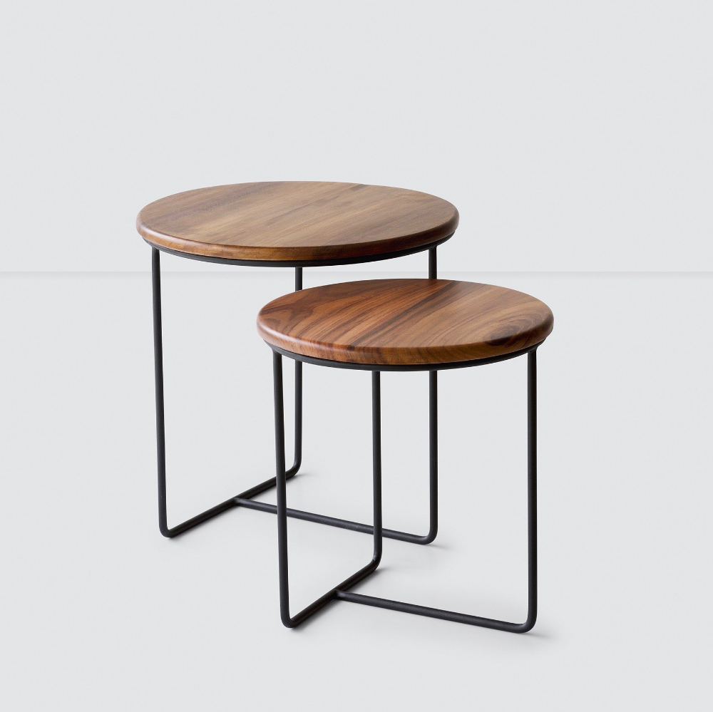 Centro Nesting Side Tables Modern Side Tables At The Citizenry Side Table Coffee Table Modular Coffee Table