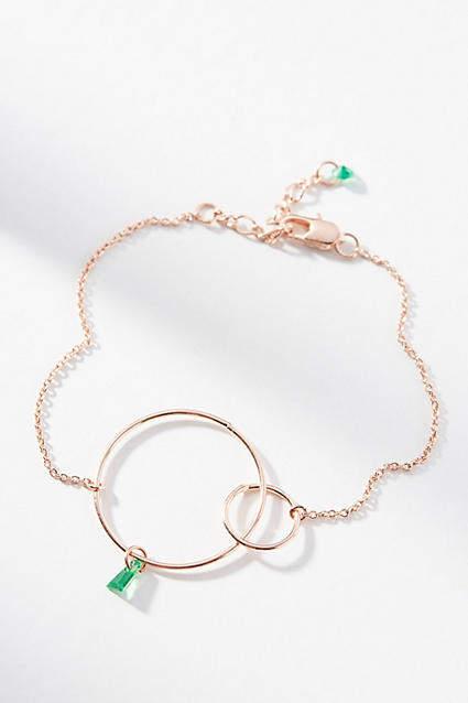 Anthropologie Hula Hoop Birthstone Bracelet GqqG8v5O