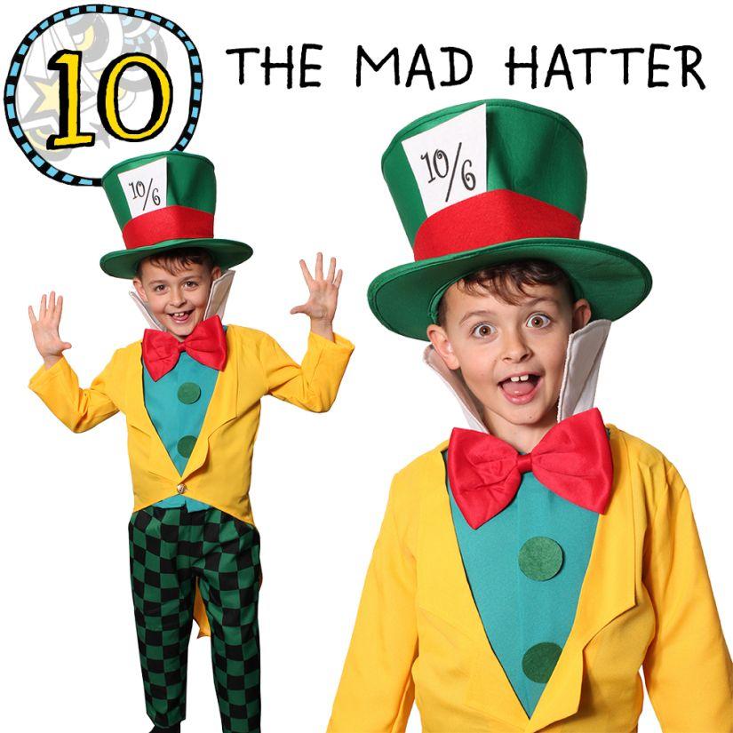Alice In Wonderland Book Day Ideas : Mad hatter the alice in wonderland fancy