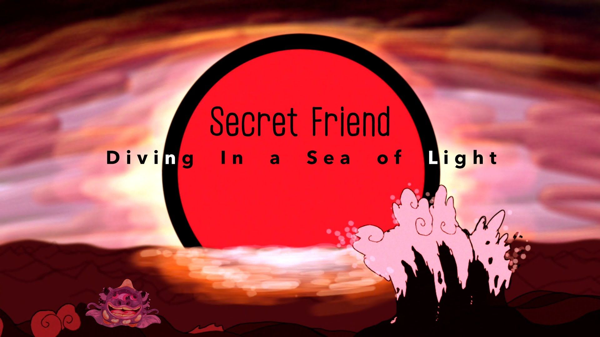 Secret Friend - Diving In A Sea Of Light (Official Video)