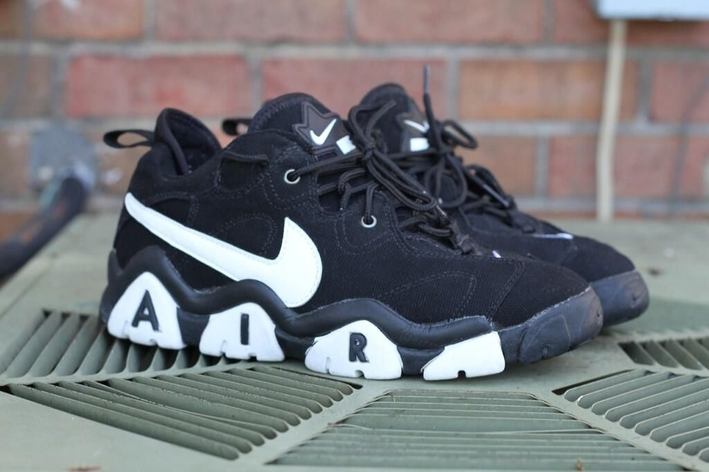 promo code 94a74 8eea7 Nike Air Barrage Low - I had the Navy yellow an white versions.