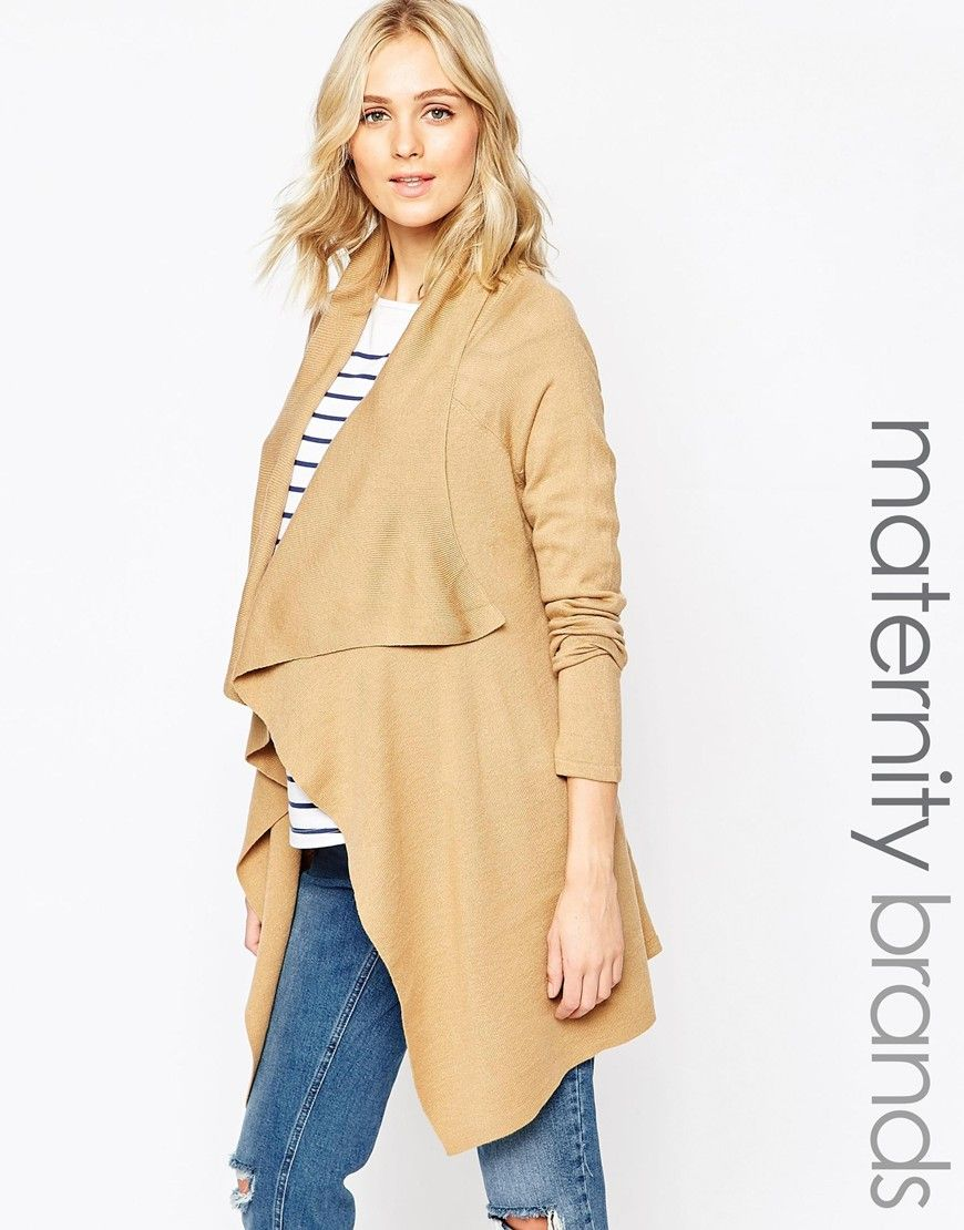 New Look Maternity Waterfall Cardigan | babies & motherhood ...
