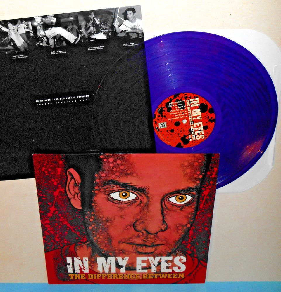 In My Eyes The Difference Between Lp Record Purple Vinyl Pushead Artwork Punkhardcorepunknewwave Vinyl Artwork Wave Rock