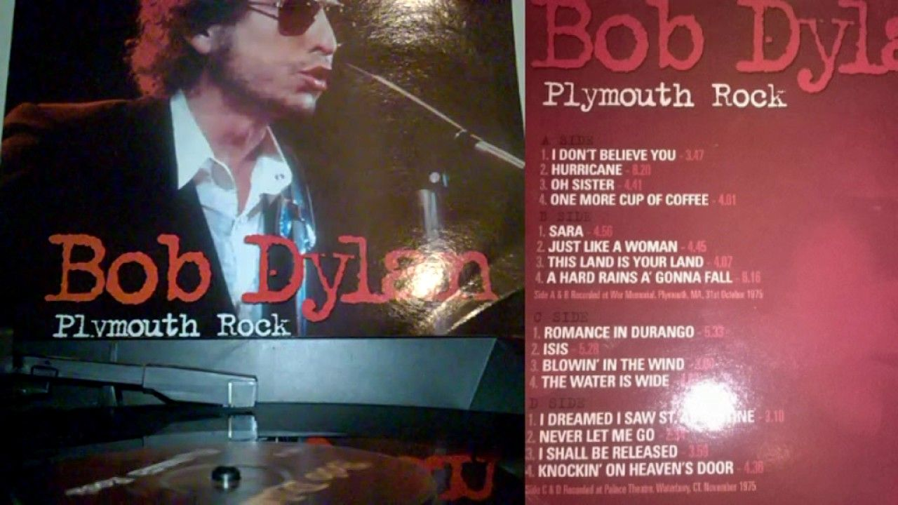 Bob Dylan Plymouth Rock Probably The Best Dylan Concert Of All
