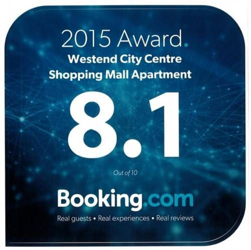 Westend City Centre Shopping Mall Apartment Budapest Located in Budapest, 200 metres from the Lehel t?r Metro Stop (line M3), the air-conditioned Westend City Centre Shopping Mall Apartment offers a balcony and free WiFi access.