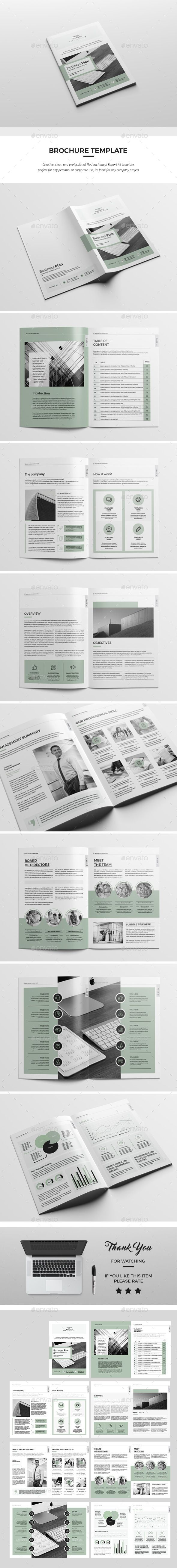 Business Plan — InDesign INDD #indesign #identity • Download ...