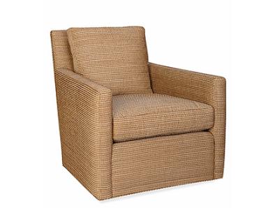 more streamlined upholstered swivel