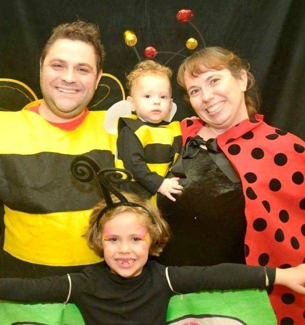 9 families who nailed their Halloween costumes Halloween costumes - halloween costume ideas for family