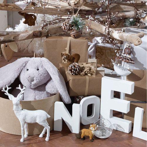Boule de no l ouverte alpage argent christmas decoration noel noel et no l scandinave - Boule de noel en anglais ...