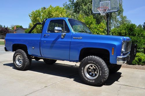 1973 chevy k10 4x4 blue lifted no rust short bed loud on 1973 chevy k10 4x4 blue lifted no rust short bed loud sciox Choice Image