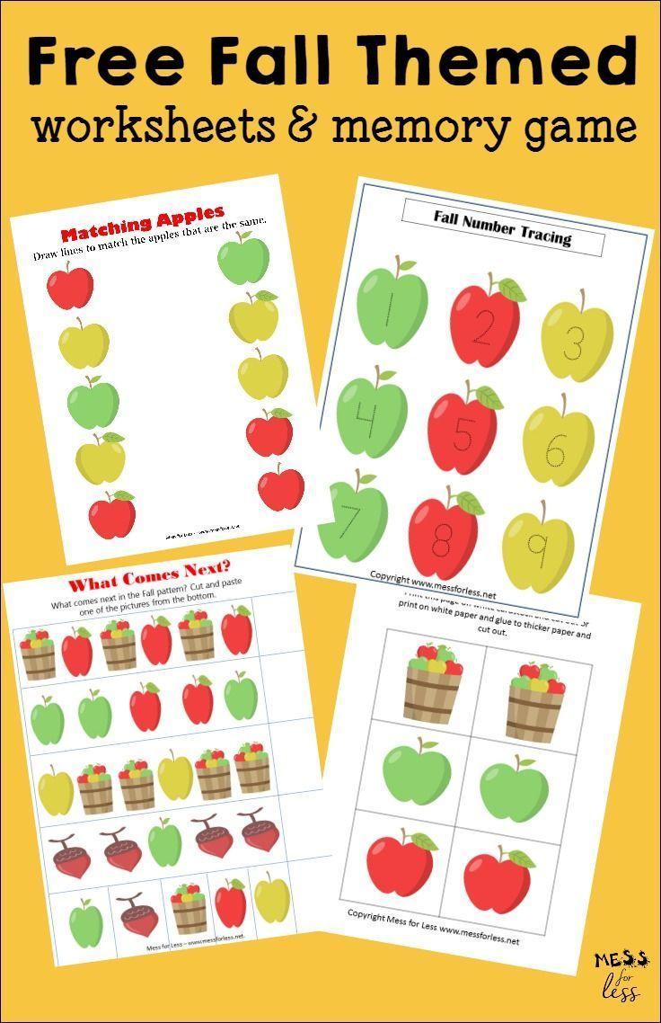 Worksheets Fall Worksheets For Preschool free fall worksheets and fashion activities fashion