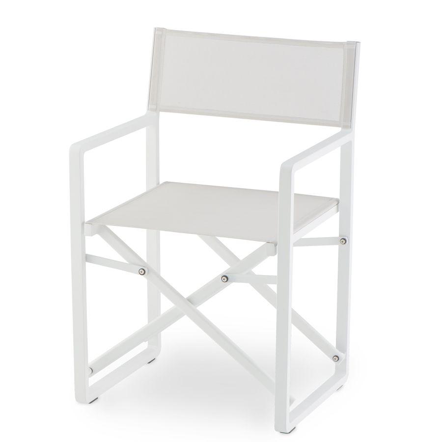 Sedie Da Regista In Legno Ikea.Regista Gs 945 Sedia Regista Da Esterno Con Struttura In