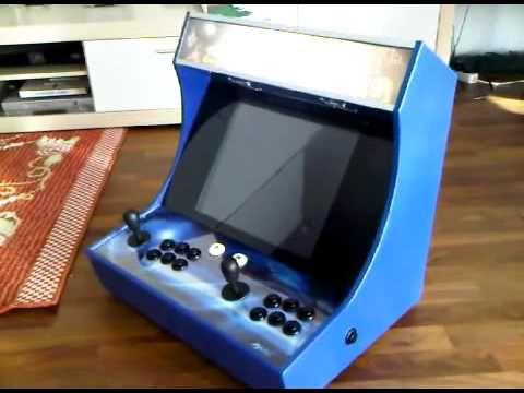 DIY Bartop Arcade Cabinet And Jukebox, (MAME Emulator ...
