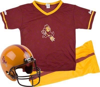 fc356e81 Arizona State Sun Devils Kids/Youth Football Helmet and Uniform Set ...