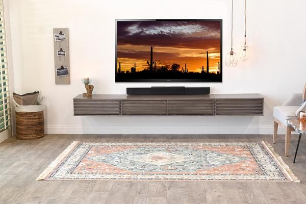 Floating Wall Mount Tv Stand For 60 To 80 Tvs Lotus 3 Piece Driftwood Gray Floating Tv Unit Wall Mounted Tv Modern Tv Wall