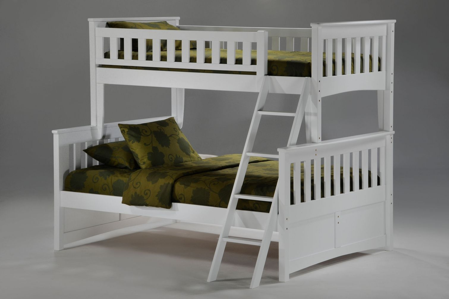 White Wood Bunk Beds Twin Over Full Top Rated Interior Paint Check