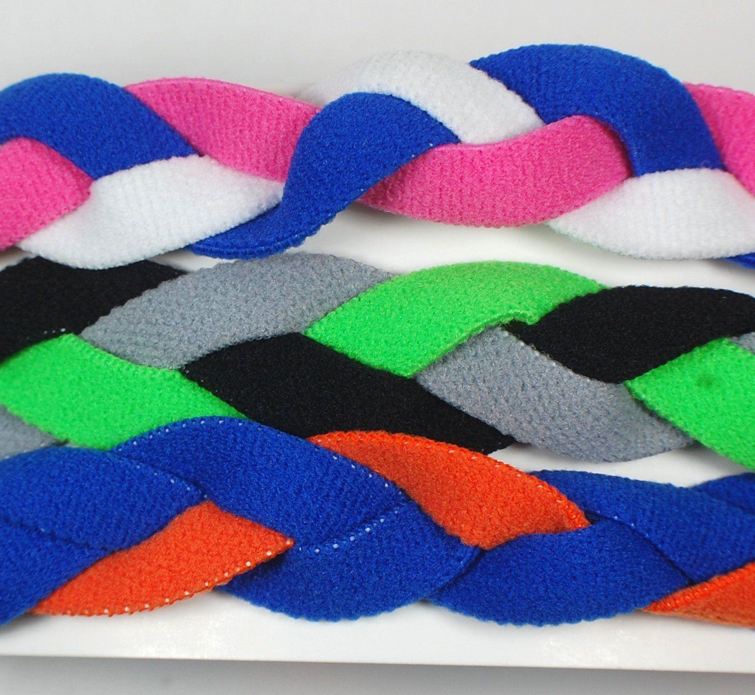3 pack extreme sports braided mini non slip sports