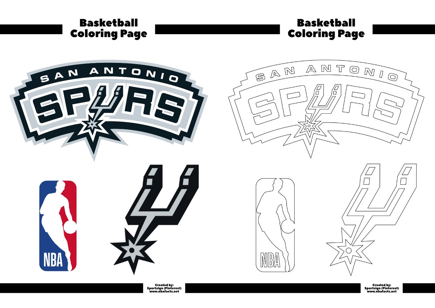 Pin on San Antonio Spurs NBA Basketball